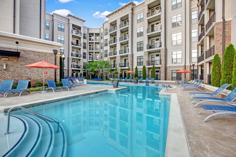 Pool at Mark at West Midtown in Atlanta, GA