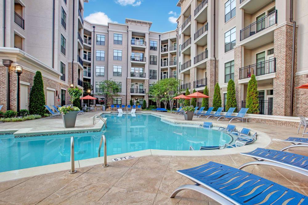 Swimming pool at Mark at West Midtown in Atlanta, GA