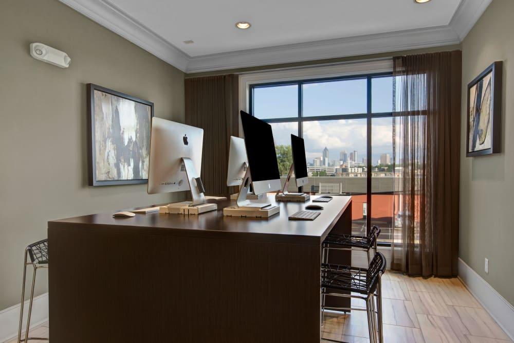 Office room at Mark at West Midtown in Atlanta, GA