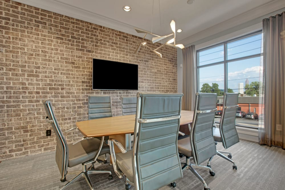 Meeting room at Mark at West Midtown in Atlanta, GA