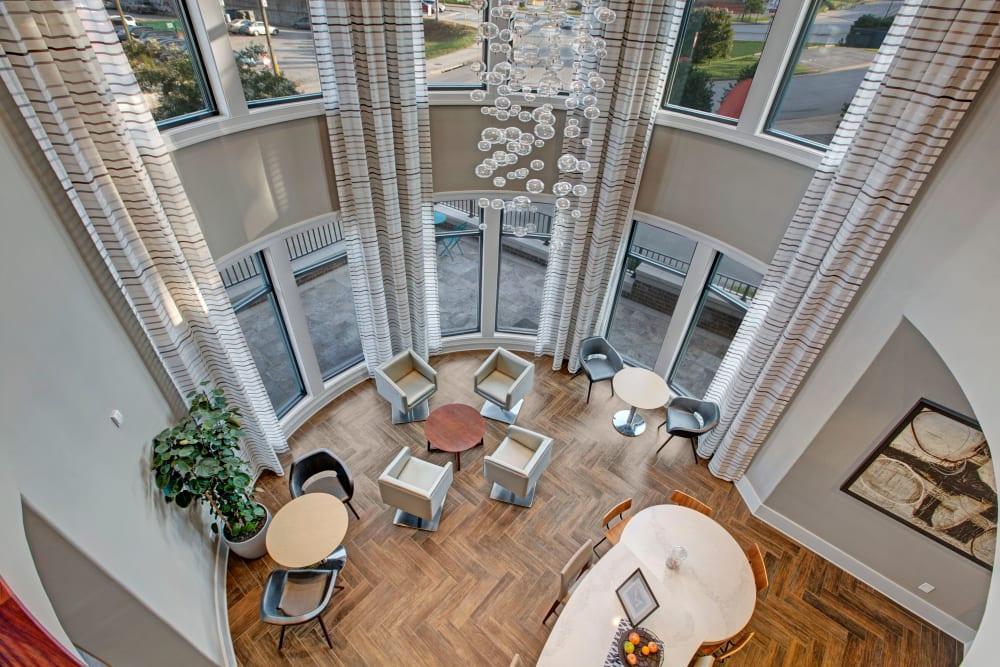 Clubhouse interior at Mark at West Midtown in Atlanta, GA