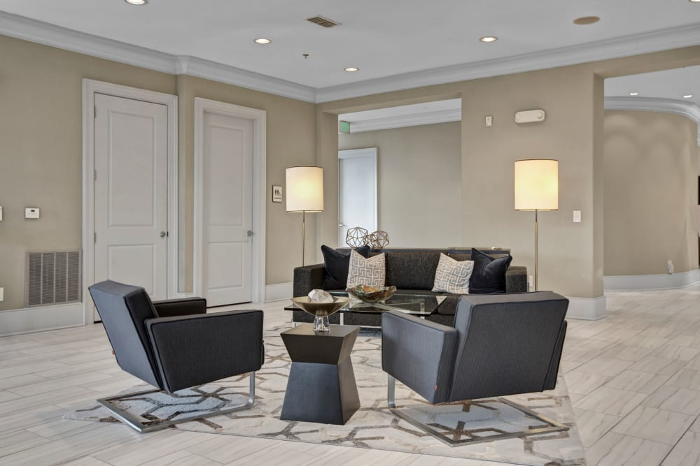 Lounge area at Mark at West Midtown in Atlanta, GA