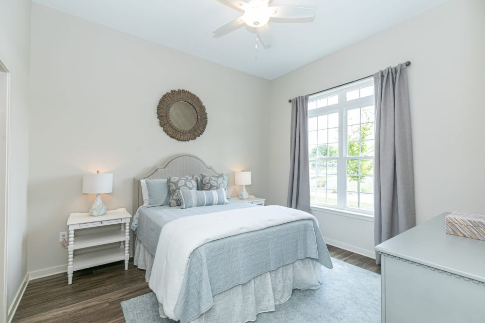 Bedroom at The Station at River Crossing in Macon, Georgia
