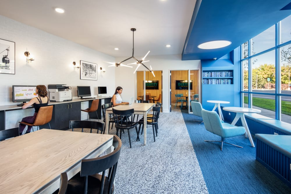 Community study space at IDENTITY Boise in Boise, Idaho