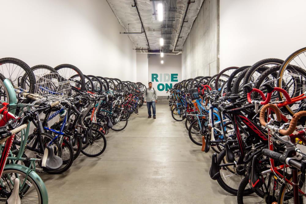 Bike storage at IDENTITY Boise in Boise, Idaho