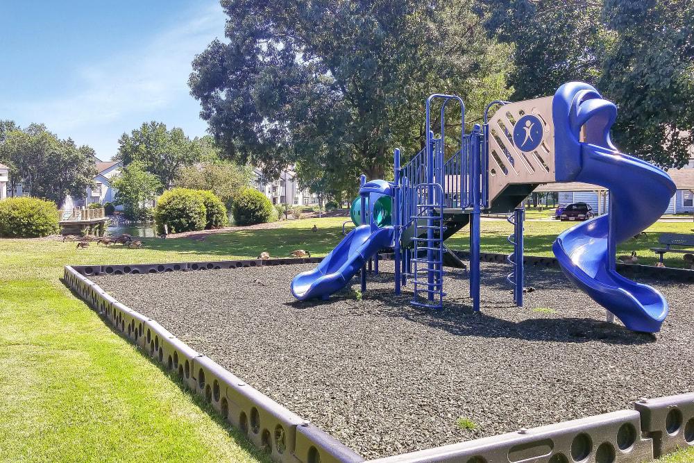 Children's playground at Runaway Bay Apartments in Virginia Beach, Virginia