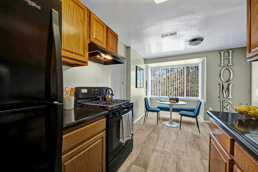 Kitchen at Apartments in Silver Spring, Maryland