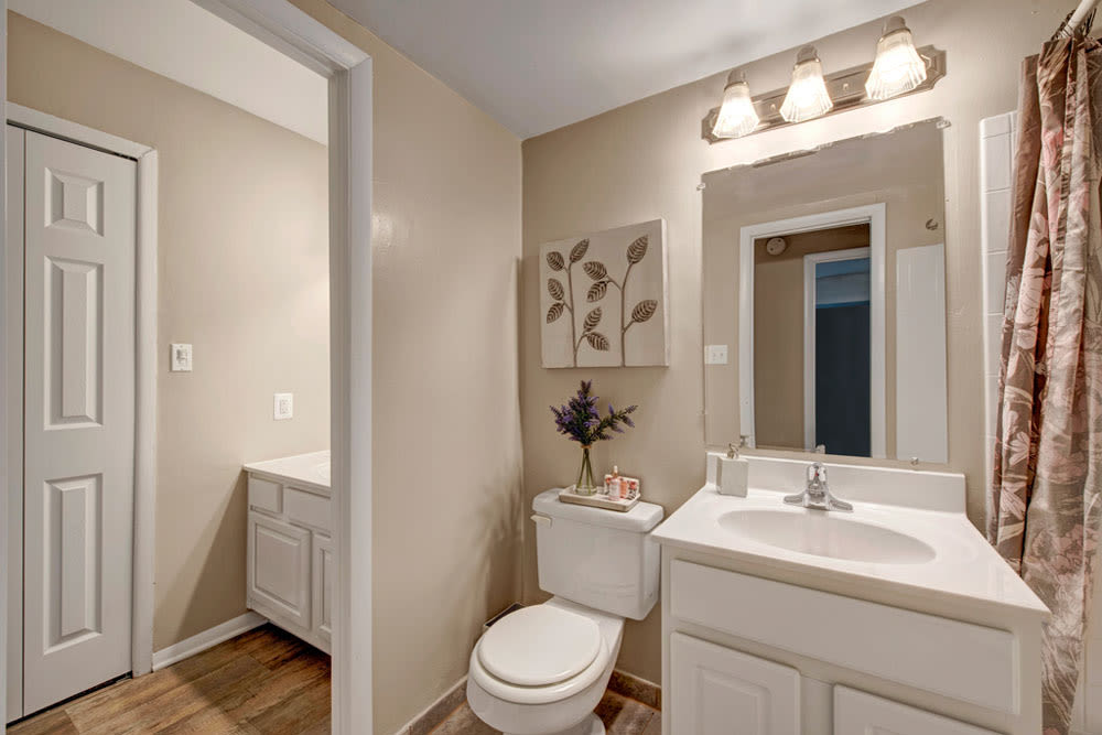 Bathroom at Apartments in Silver Spring, Maryland