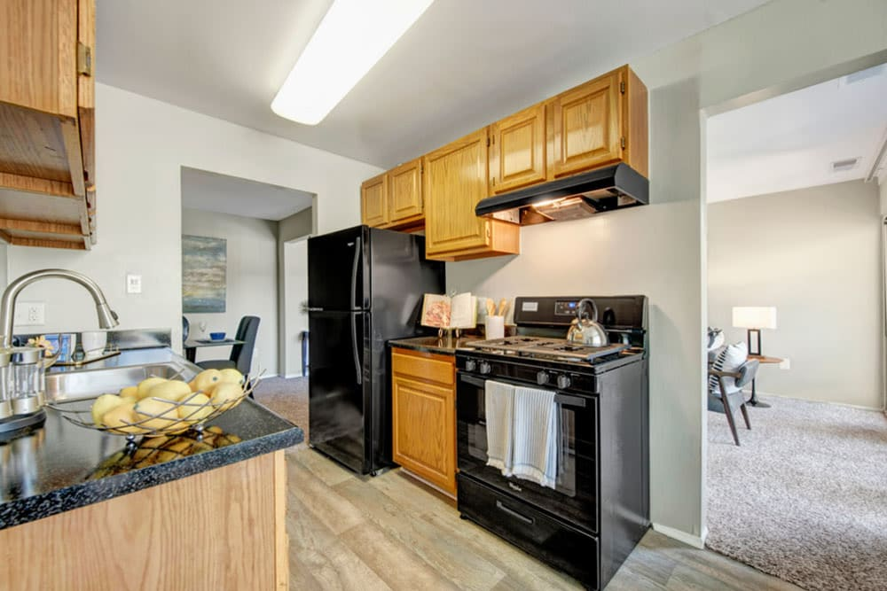 Cinnamon Run at Peppertree Farm offers a Kitchen in Silver Spring, Maryland