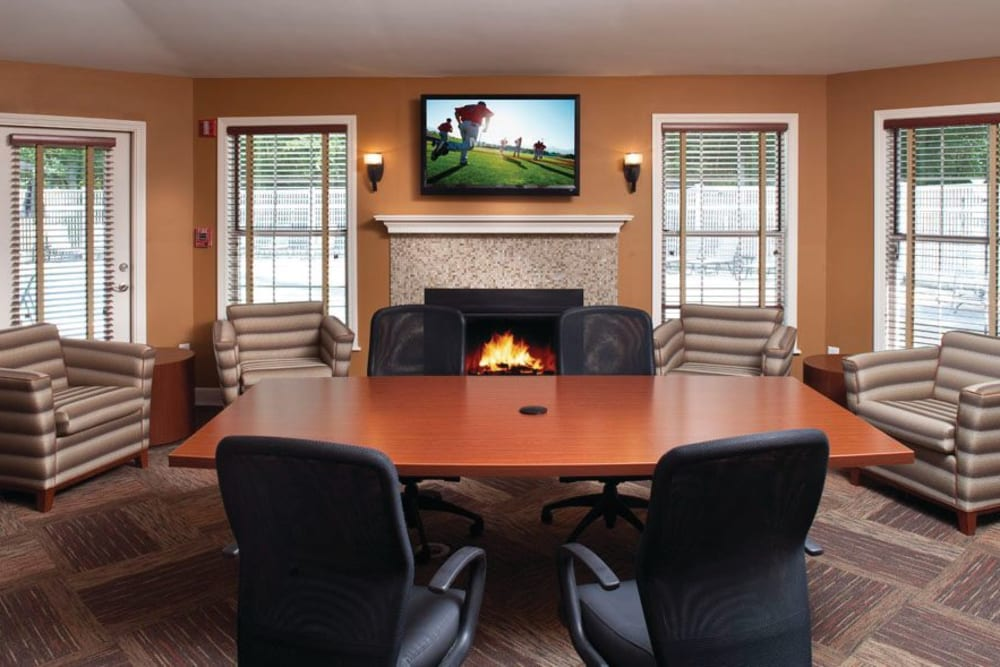 Conference room at The Commons At Haynes Farm in Shrewsbury, Massachusetts