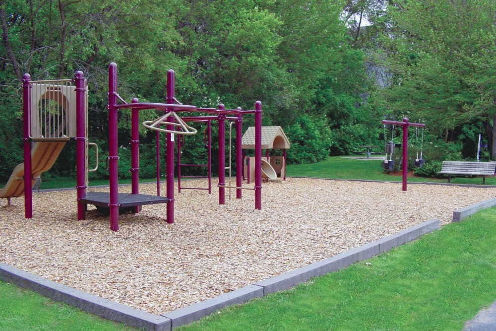 Children's playground at Stone Ends in Stoughton, Massachusetts