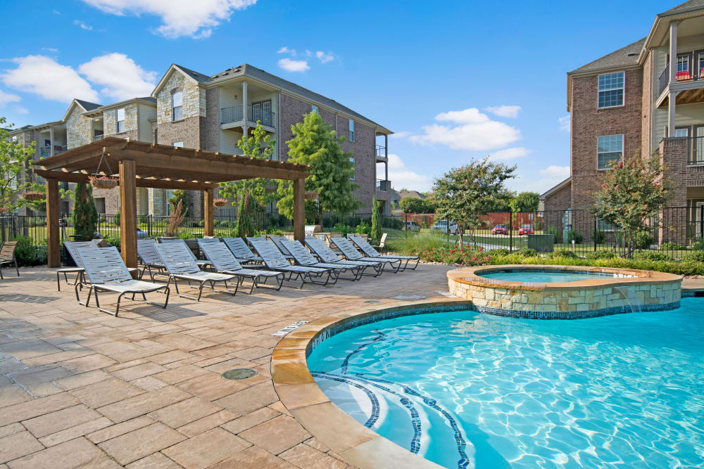 Our Apartments in Wylie, Texas offer a Swimming Pool