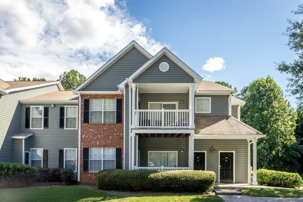 Exterior image of apartment at Eastwood Village in Stockbridge, Georgia