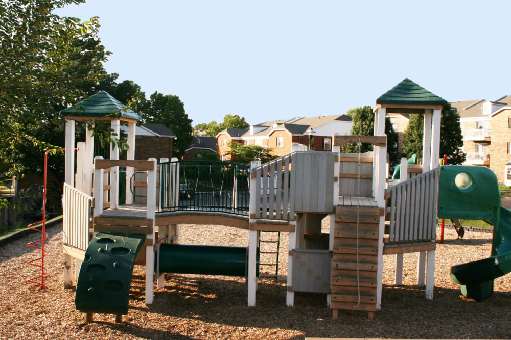 Children's playground at Oxford Hills in St. Louis, Missouri