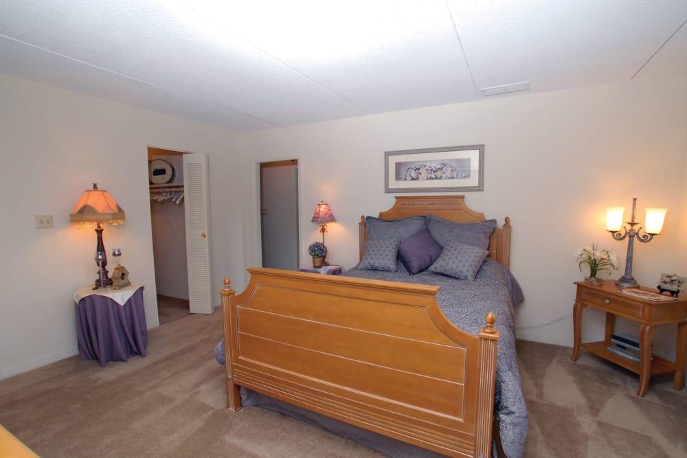 Our Quiet Apartments in Marlborough, Massachusetts showcase a Bedroom