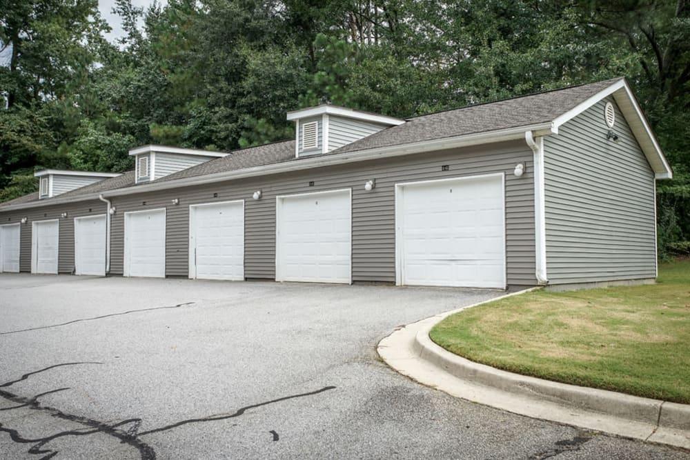 Secure garage parking at Hidden Creek in Morrow, Georgia