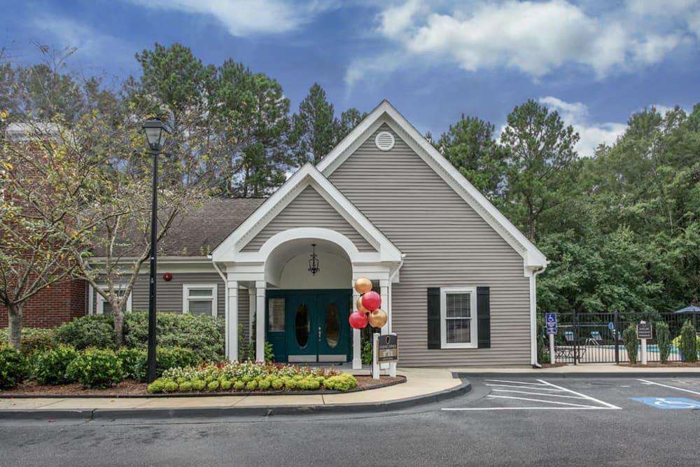 Leasing office at Hidden Creek in Morrow, Georgia