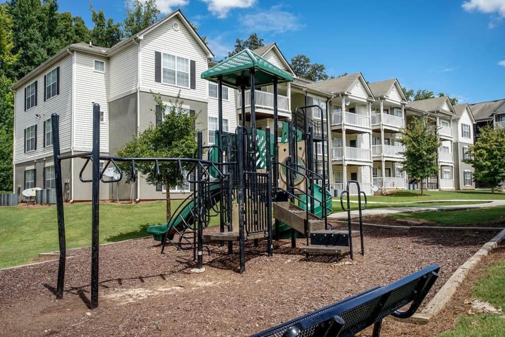 Children's playground at Monterey Village in Jonesboro, Georgia