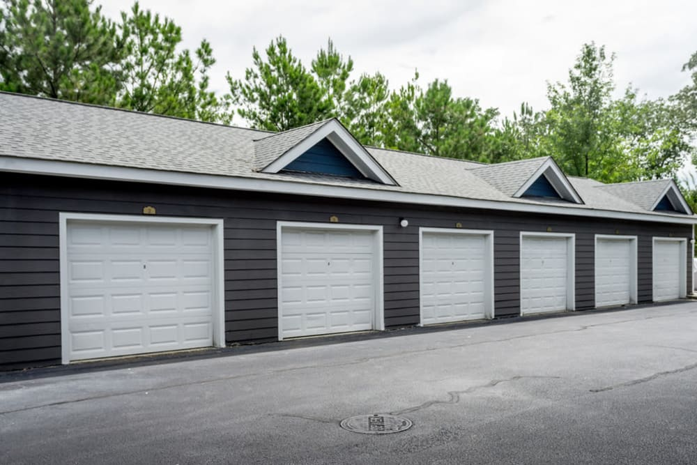 Residential garage parking available at Meadow Springs in College Park, Georgia