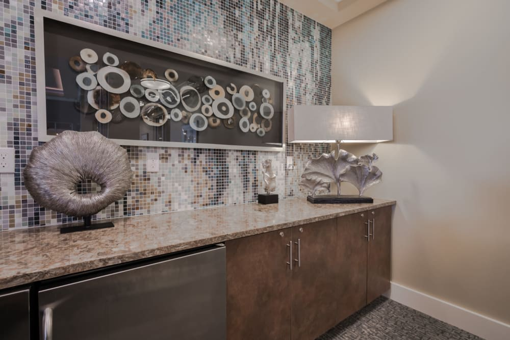 Stylish furnishings at Integra Lakes in Casselberry, Florida