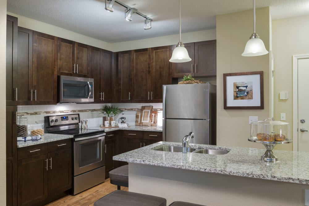 Our Apartments in Casselberry, Florida offer a Kitchen