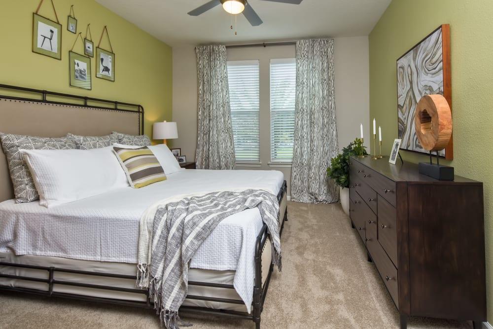Spacious bedroom at Linden Audubon Park in Orlando, Florida