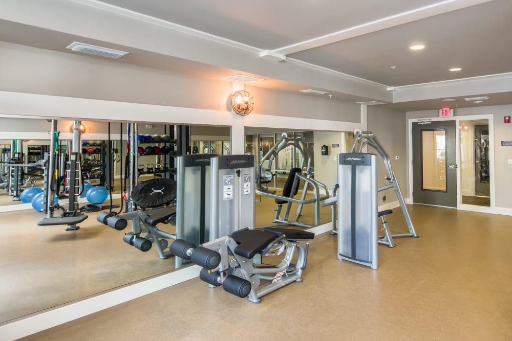 Spacious Fitness center at Linden Audubon Park in Orlando, Florida