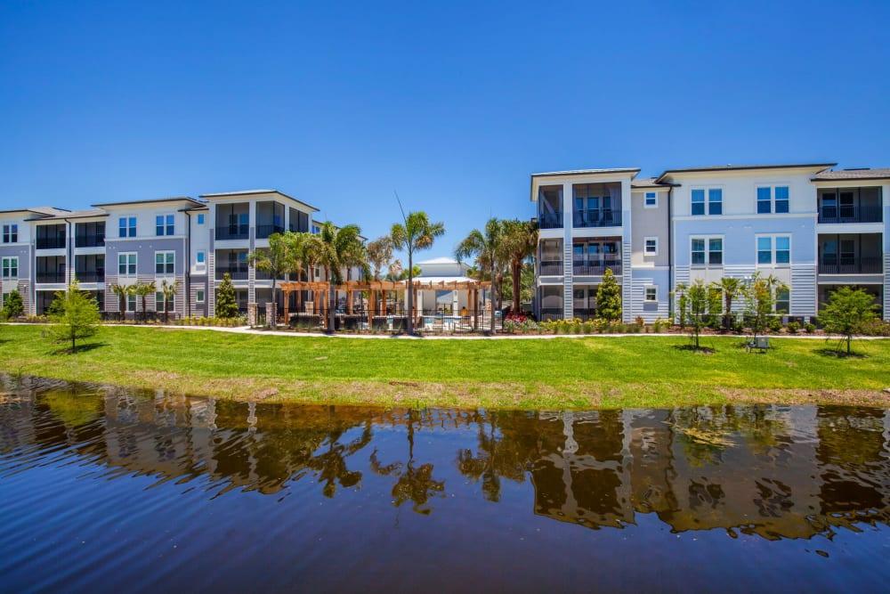 Buildings at Linden Audubon Park in Orlando, Florida