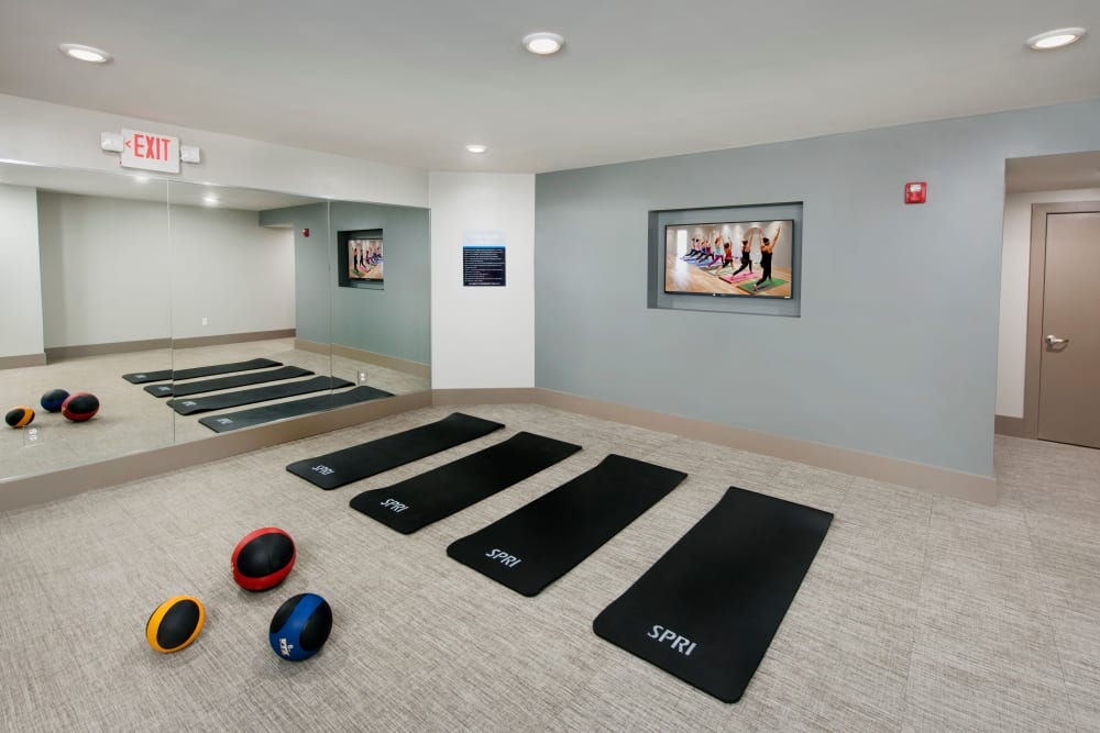 Movement studio at Linden Crossroads in Orlando, Florida