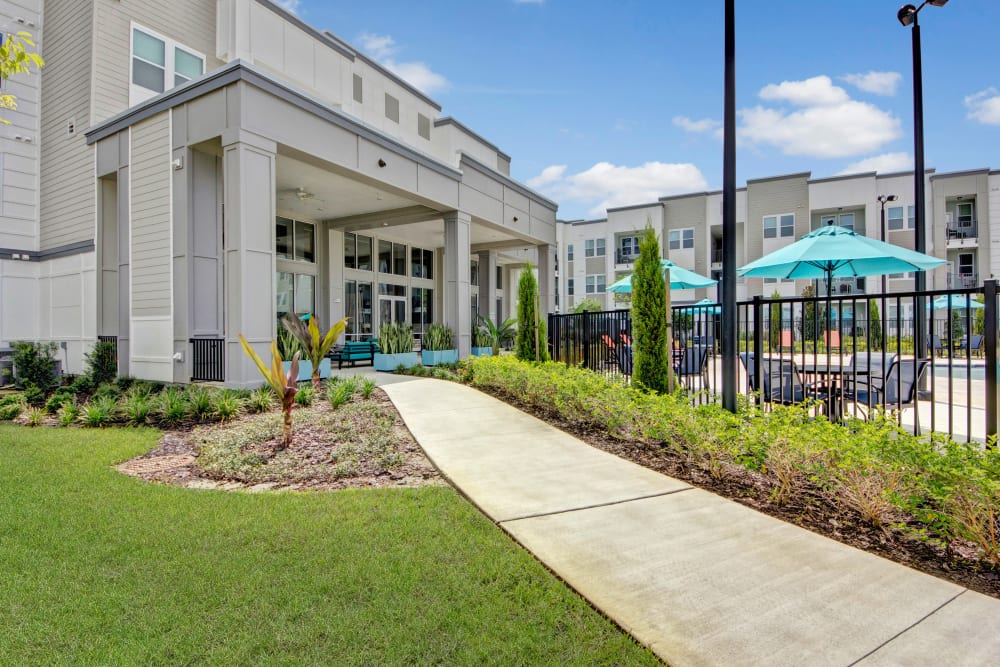 Entrance to Linden on the GreeneWay in Orlando, Florida
