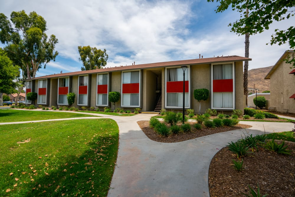 Exterior view of The Heights at Grand Terrace in Grand Terrace, California