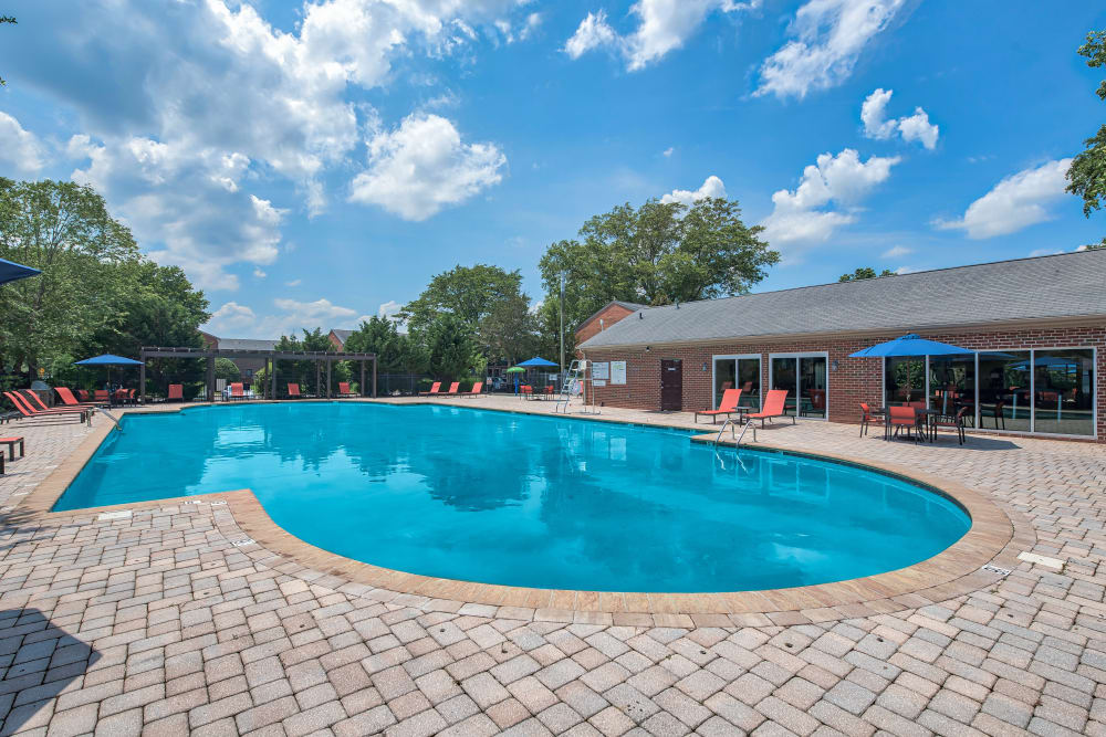 Swimming Pool at Maple Bay Townhomes in Virginia Beach, Virginia