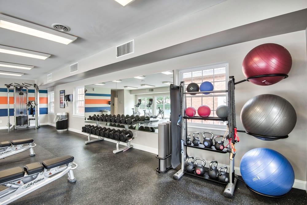 Our Apartments in Virginia Beach, Virginia offer a Gym