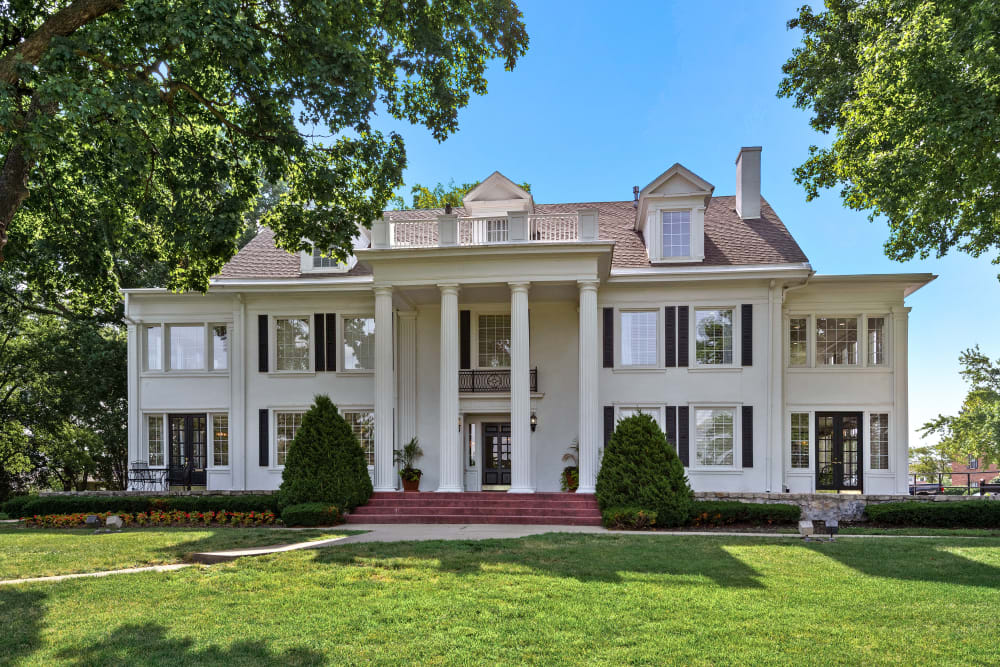 Exterior view of at The Mansion in Independence, Missouri