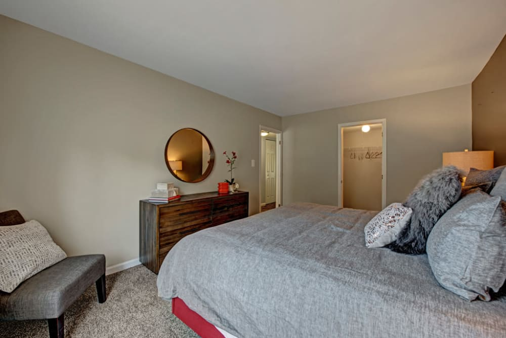 Spacious bedroom at Howard Crossing in Ellicott City, Maryland