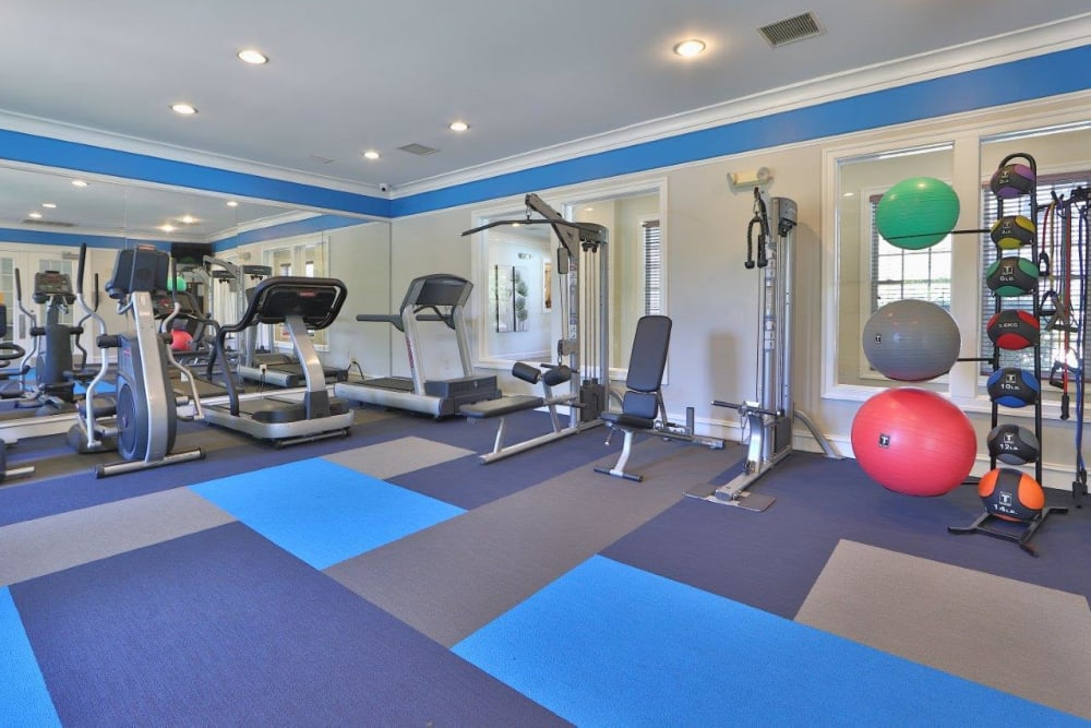 Gym at The Village at Potomac Falls Apartment Homes in Sterling, VA