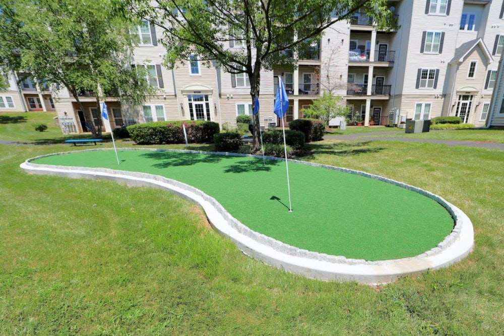 Golf at The Village at Potomac Falls Apartment Homes in Sterling, Virginia