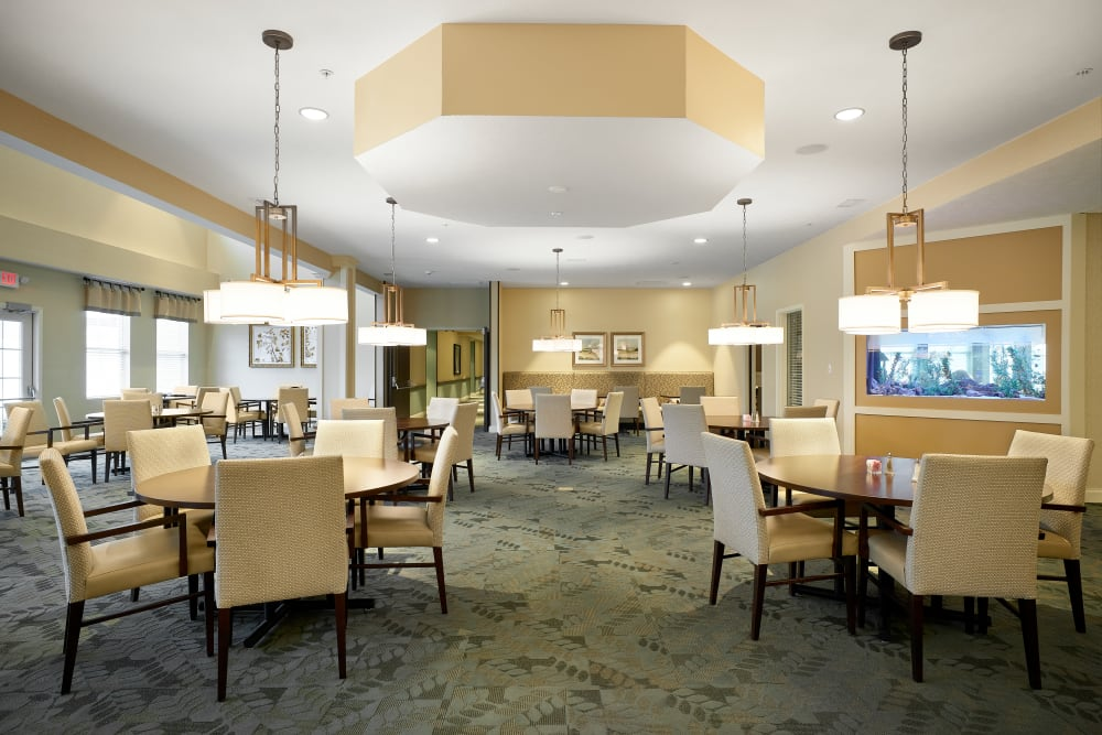 Dining Space at Legacy Living Florence in Florence, Kentucky