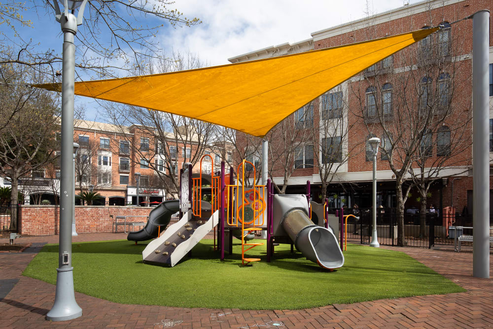 Wonderful playground at Residences at The Triangle in Austin, Texas