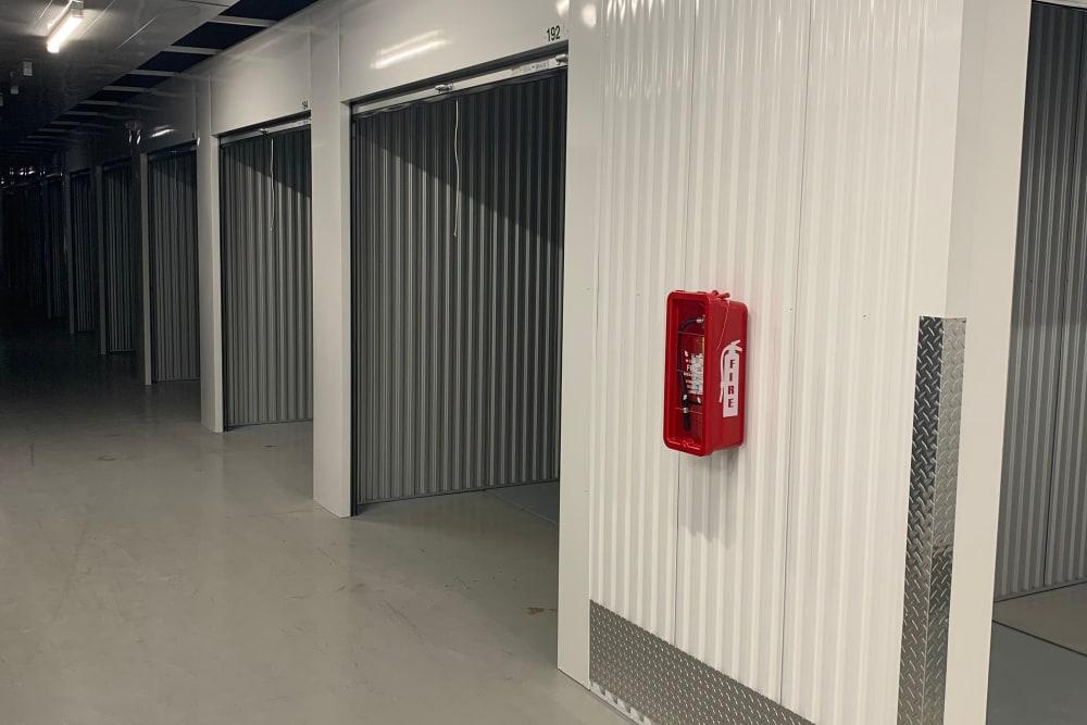 Inside units at Superior Self Storage in El Dorado Hills, California