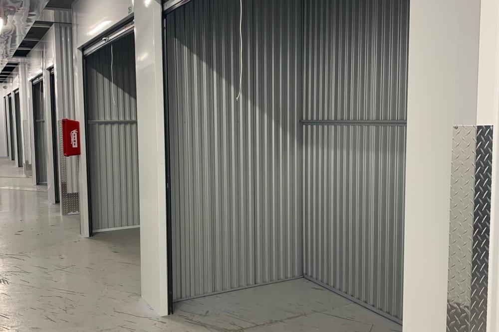 Interior units at Superior Self Storage in El Dorado Hills, California