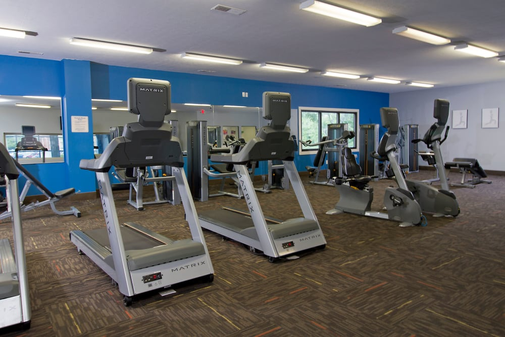Park at Hurstbourne offers a Luxury Fitness Center in Louisville, Kentucky