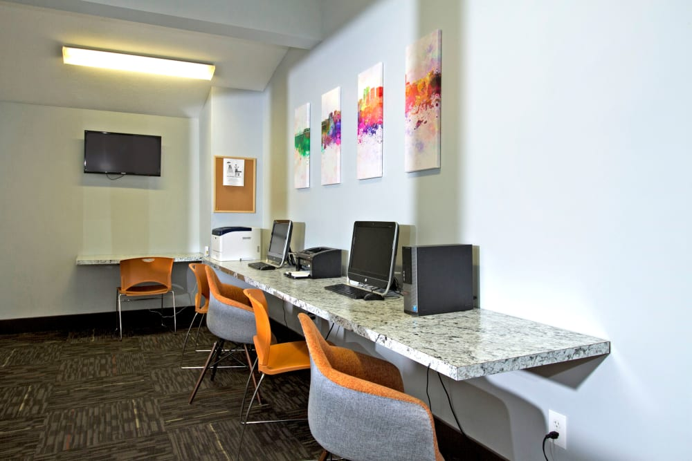 Business Center at Apartments in Louisville, Kentucky
