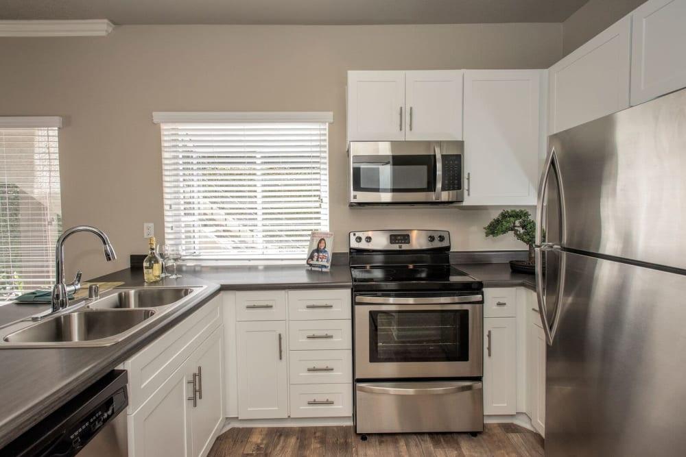 Kitchen with plenty of counter top space at Niguel Summit Condominium Rentals in Laguna Niguel, California