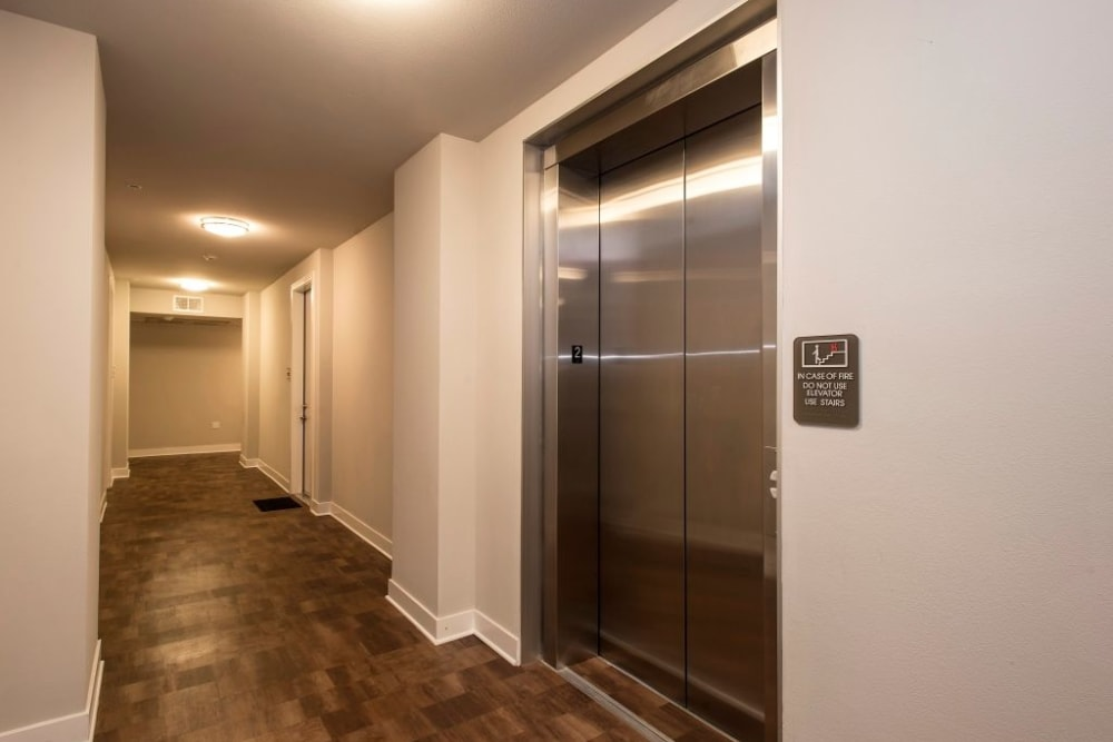 Elevator at Luxe Scottsdale Apartments in Scottsdale, Arizona
