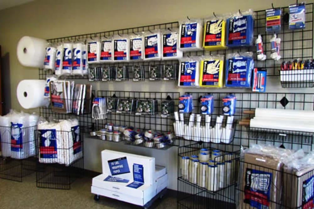 A variety of packing supplies at Iron Gate Storage Camas-Washougal in Washougal, Washington