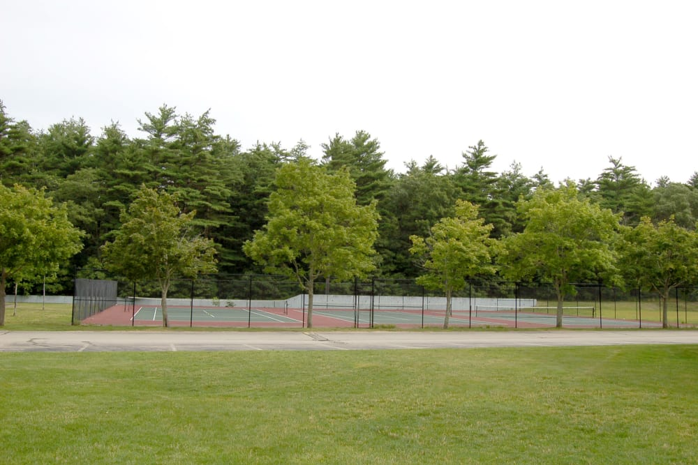 Tennis courts available at The Village at Marshfield in Marshfield, Massachusetts