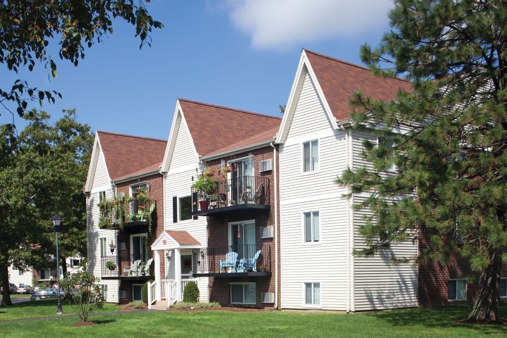 Exterior view of The Village at Marshfield in Marshfield, Massachusetts