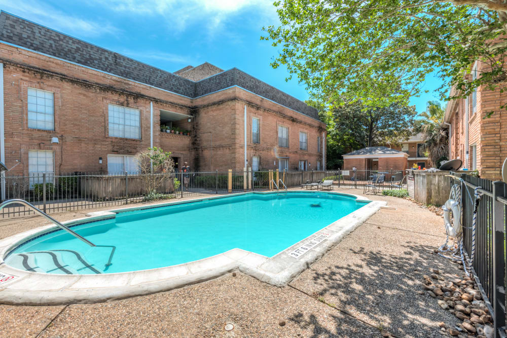 Outdoor pool at The Villages at Meyerland Houston, TX