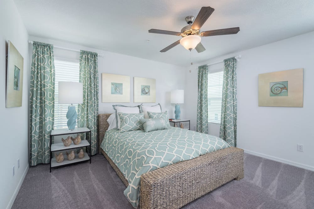 Model Bedroom at Artisan Living Bella Citta in Davenport, Florida